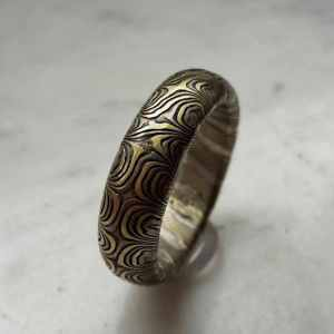 Ring Gold-Silber-Palladium